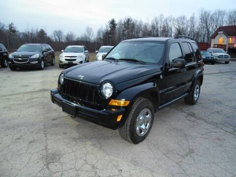 2007 Jeep Liberty for sale at Route 111 Auto Sales in Hampstead NH