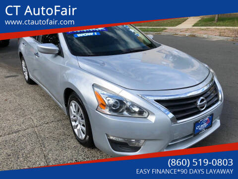 2013 Nissan Altima for sale at CT AutoFair in West Hartford CT