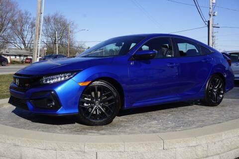 2020 Honda Civic for sale at Platinum Motors LLC in Heath OH