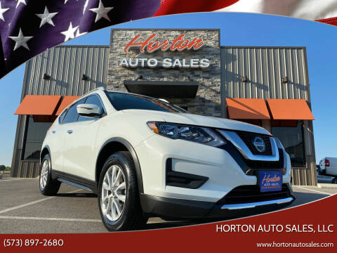 2019 Nissan Rogue for sale at HORTON AUTO SALES, LLC in Linn MO