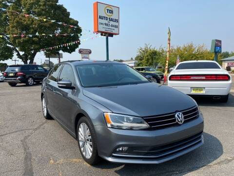 2016 Volkswagen Jetta for sale at TDI AUTO SALES in Boise ID