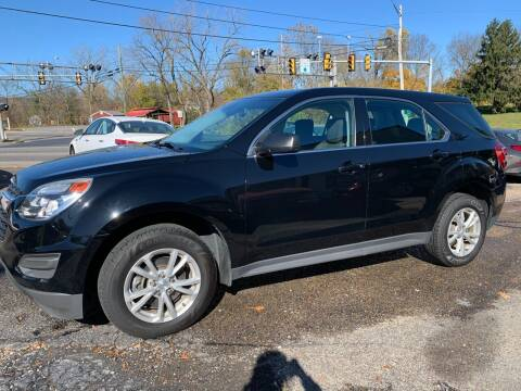2017 Chevrolet Equinox for sale at Trax Auto II in Broadway VA
