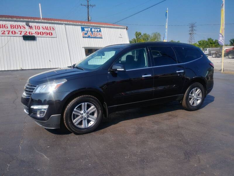 2015 Chevrolet Traverse for sale at Big Boys Auto Sales in Russellville KY