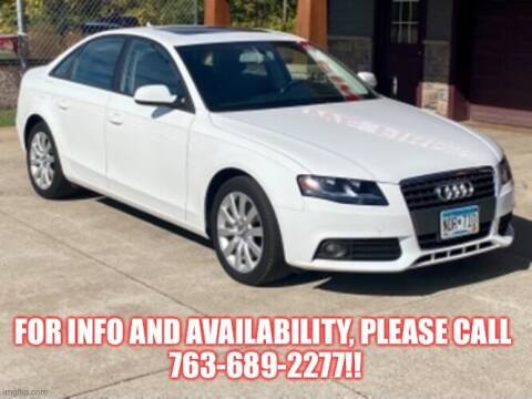 2012 Audi A4 for sale at Affordable Auto Sales in Cambridge MN