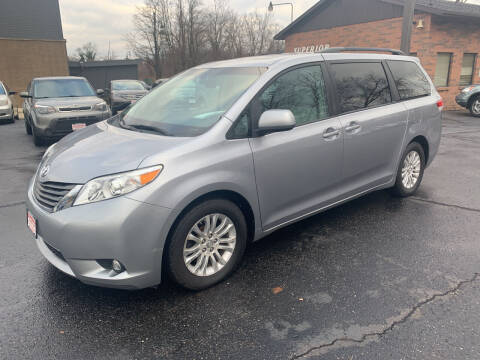 2011 Toyota Sienna for sale at Superior Used Cars Inc in Cuyahoga Falls OH