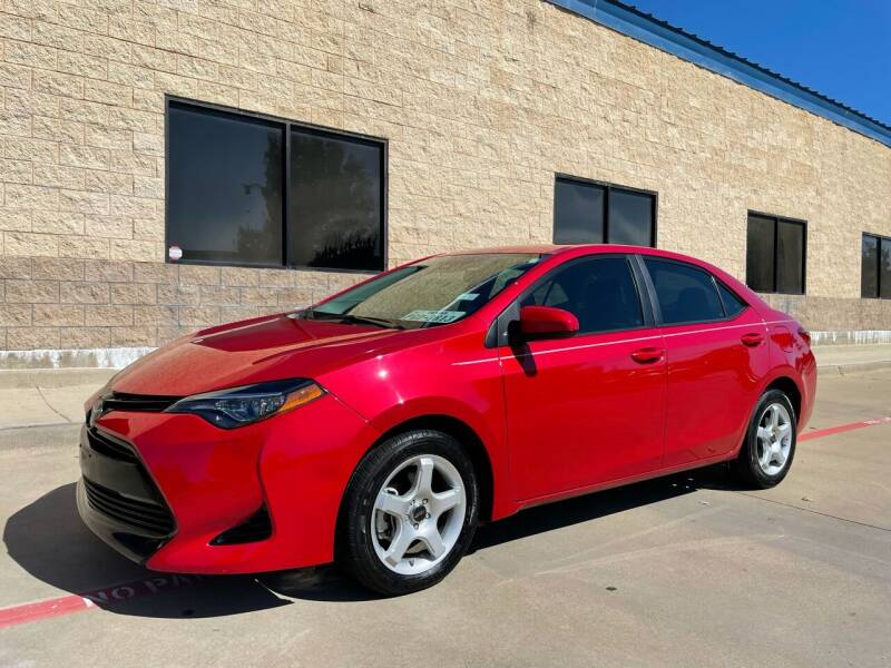 2018 Toyota Corolla for sale at Dream Lane Motors in Euless TX