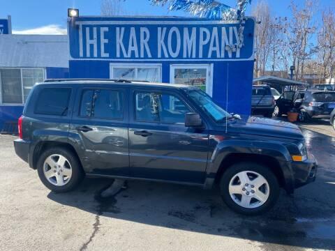 2007 Jeep Patriot for sale at The Kar Kompany Inc. in Denver CO
