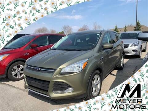 2013 Ford Escape for sale at Meyer Motors in Plymouth WI