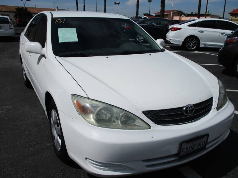 2003 Toyota Camry for sale at F & A Car Sales Inc in Ontario CA