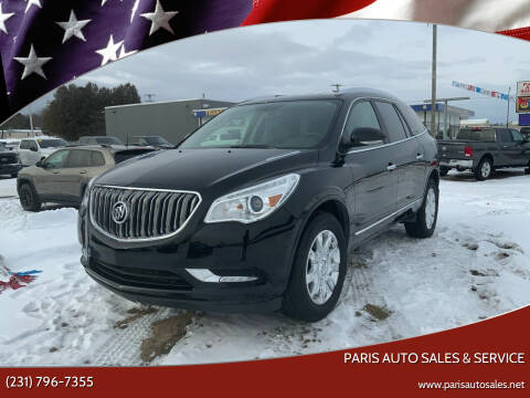2017 Buick Enclave for sale at Paris Auto Sales & Service in Big Rapids MI