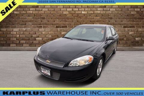 2014 Chevrolet Impala Limited for sale at Karplus Warehouse in Pacoima CA