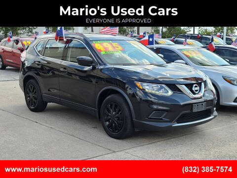 2016 Nissan Rogue for sale at Mario's Used Cars in Houston TX