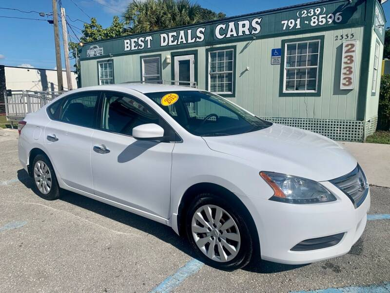 2015 Nissan Sentra for sale at Best Deals Cars Inc in Fort Myers FL