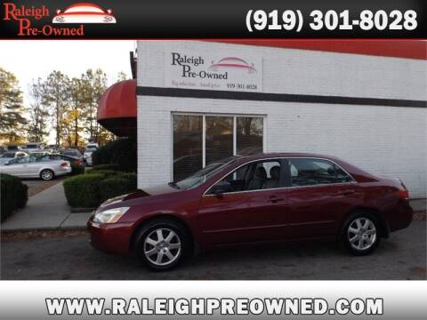 2005 Honda Accord for sale at Raleigh Pre-Owned in Raleigh NC