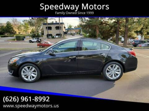 2014 Buick Regal for sale at Speedway Motors in Glendora CA