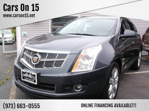 2010 Cadillac SRX for sale at Cars On 15 in Lake Hopatcong NJ
