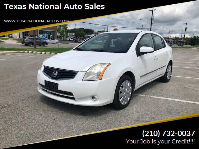 2011 Nissan Sentra for sale at Texas National Auto Sales in San Antonio TX