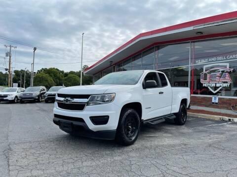 2015 Chevrolet Colorado for sale at USA Motor Sport inc in Marlborough MA