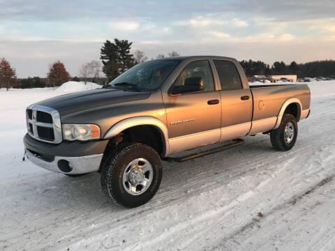 2005 Dodge Ram Pickup 2500 for sale at BLAESER AUTO LLC in Chippewa Falls WI