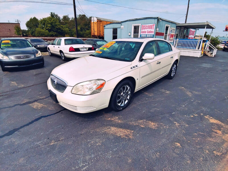 2007 Buick Lucerne for sale at DISCOUNT AUTO SALES in Murfreesboro TN