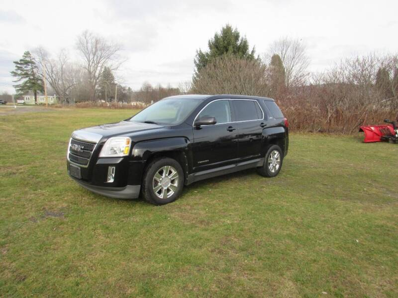 2012 GMC Terrain for sale at Clearwater Motor Car in Jamestown NY