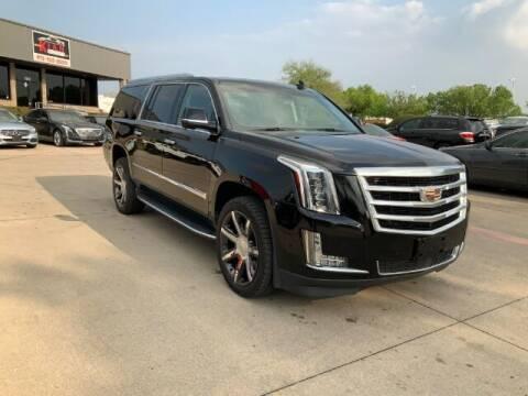2017 Cadillac Escalade ESV for sale at KIAN MOTORS INC in Plano TX