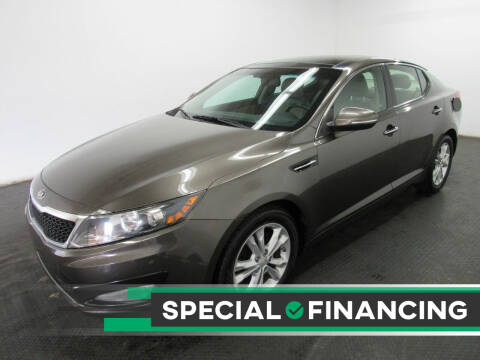 2013 Kia Optima for sale at Automotive Connection in Fairfield OH