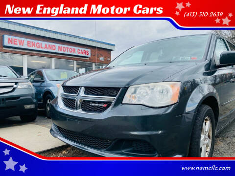 2012 Dodge Grand Caravan for sale at New England Motor Cars in Springfield MA