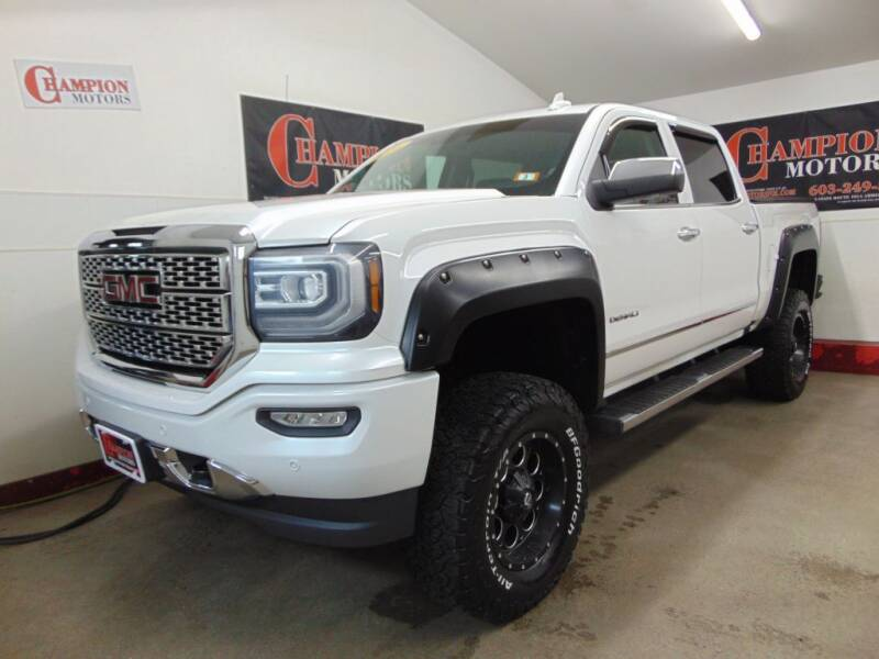 2016 GMC Sierra 1500 for sale at Champion Motors in Amherst NH