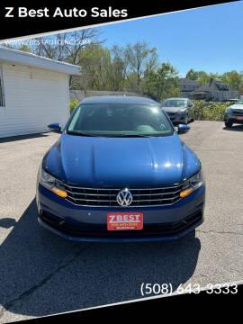 2016 Volkswagen Passat for sale at Z Best Auto Sales in North Attleboro MA