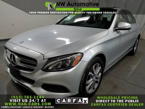 2015 Mercedes-Benz C-Class for sale at NW Automotive Group in Cincinnati OH