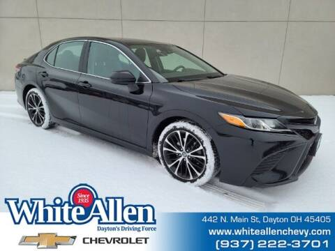 2019 Toyota Camry for sale at WHITE-ALLEN CHEVROLET in Dayton OH