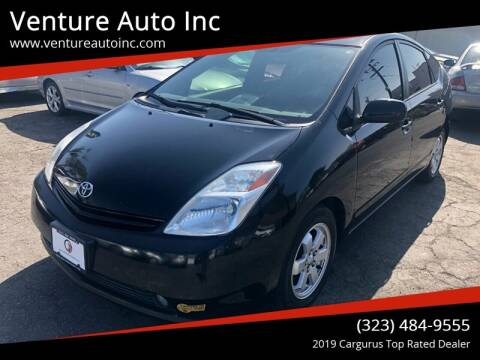 2005 Toyota Prius for sale at Venture Auto Inc in South Gate CA