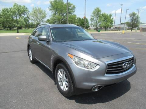 2012 Infiniti FX35 for sale at Just Drive Auto in Springdale AR
