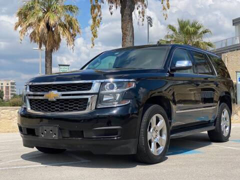 2015 Chevrolet Tahoe for sale at Motorcars Group Management - Bud Johnson Motor Co in San Antonio TX