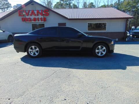 2011 Dodge Charger for sale at Evans Motors Inc in Little Rock AR