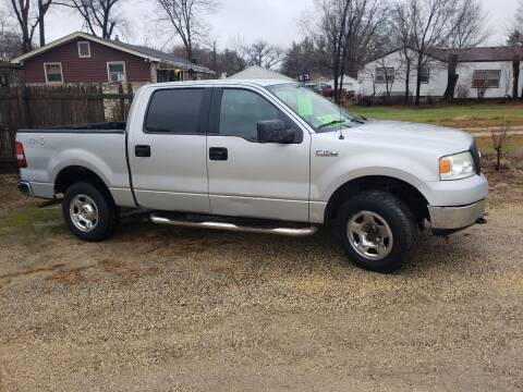2005 Ford F-150 for sale at Northwoods Auto & Truck Sales in Machesney Park IL