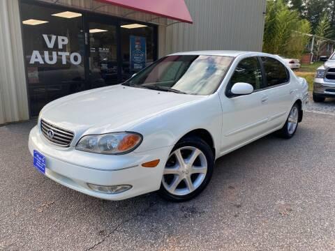2002 Infiniti I35 for sale at VP Auto in Greenville SC