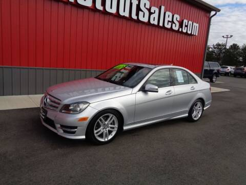 2012 Mercedes-Benz C-Class for sale at Stout Sales in Fairborn OH
