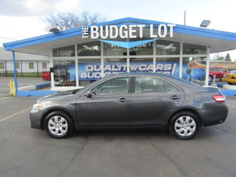 2011 Toyota Camry for sale at THE BUDGET LOT in Detroit MI