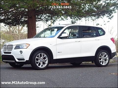 2011 BMW X3 for sale at M2 Auto Group Llc. EAST BRUNSWICK in East Brunswick NJ