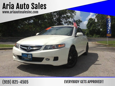2008 Acura TSX for sale at ARIA  AUTO  SALES in Raleigh NC