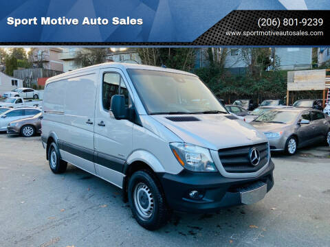 2014 Mercedes-Benz Sprinter Cargo for sale at Sport Motive Auto Sales in Seattle WA