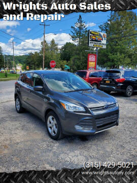 2016 Ford Escape for sale at Wrights Auto Sales and Repair in Dolgeville NY