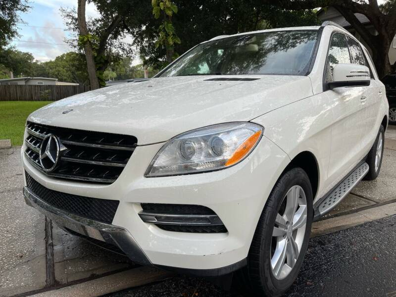 2013 Mercedes-Benz M-Class for sale at RoMicco Cars and Trucks in Tampa FL