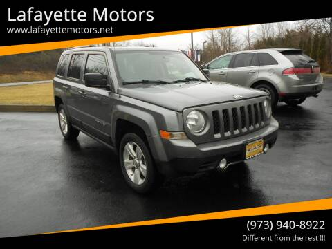 2011 Jeep Patriot for sale at Lafayette Motors 2 in Andover NJ