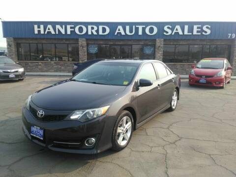 2013 Toyota Camry for sale at Hanford Auto Sales in Hanford CA