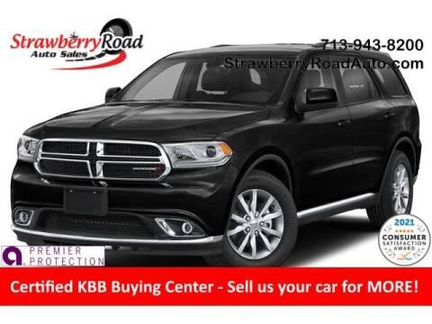 2020 Dodge Durango for sale at Strawberry Road Auto Sales in Pasadena TX