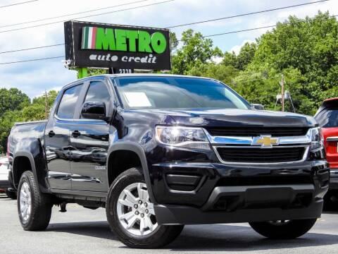 2015 Chevrolet Colorado for sale at Metro Auto Credit in Smyrna GA