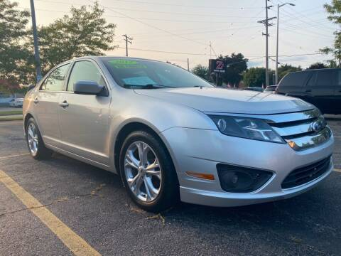 2012 Ford Fusion for sale at Zs Auto Sales in Kenosha WI